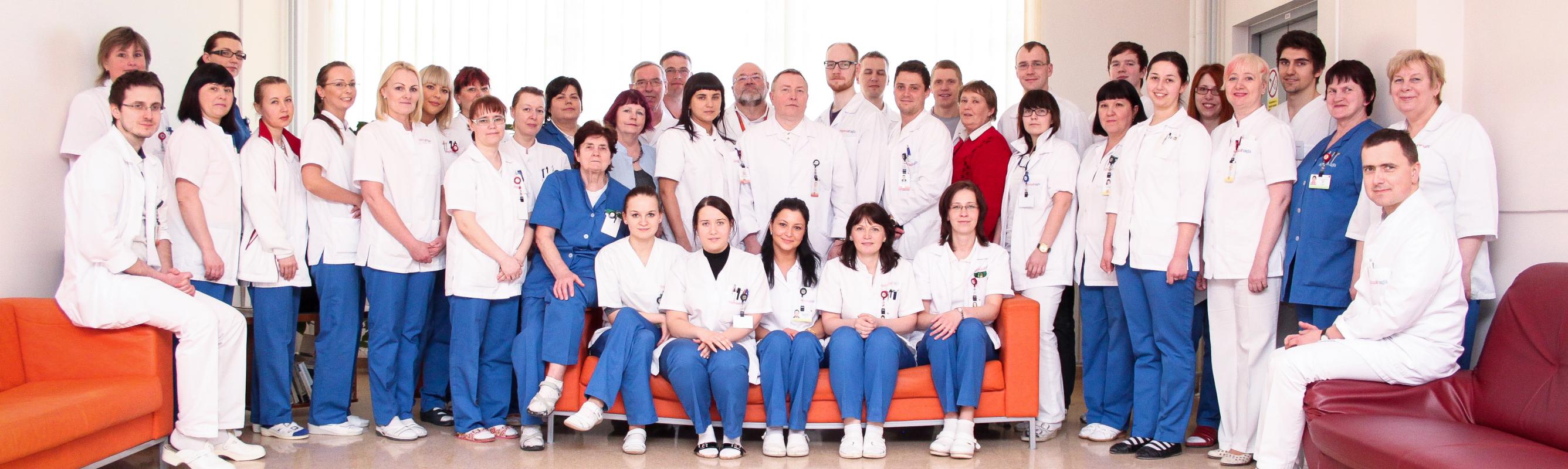 Üld- ja onkokirurgia keskuse sõbralik kollektiiv