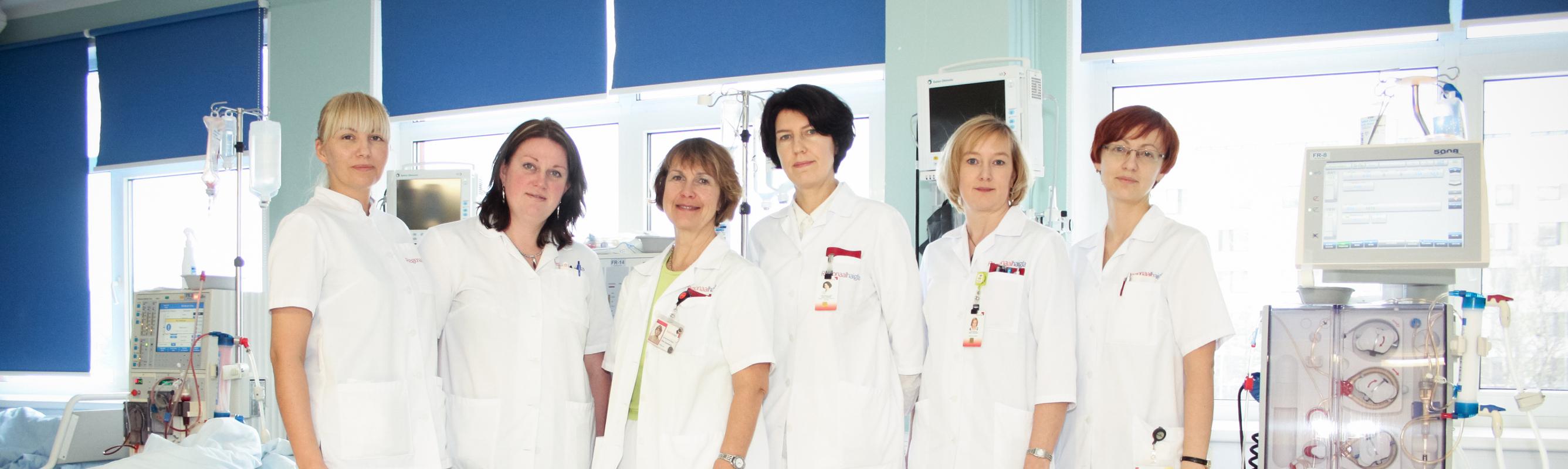 Nefroloogiakeskuse töökas naispere