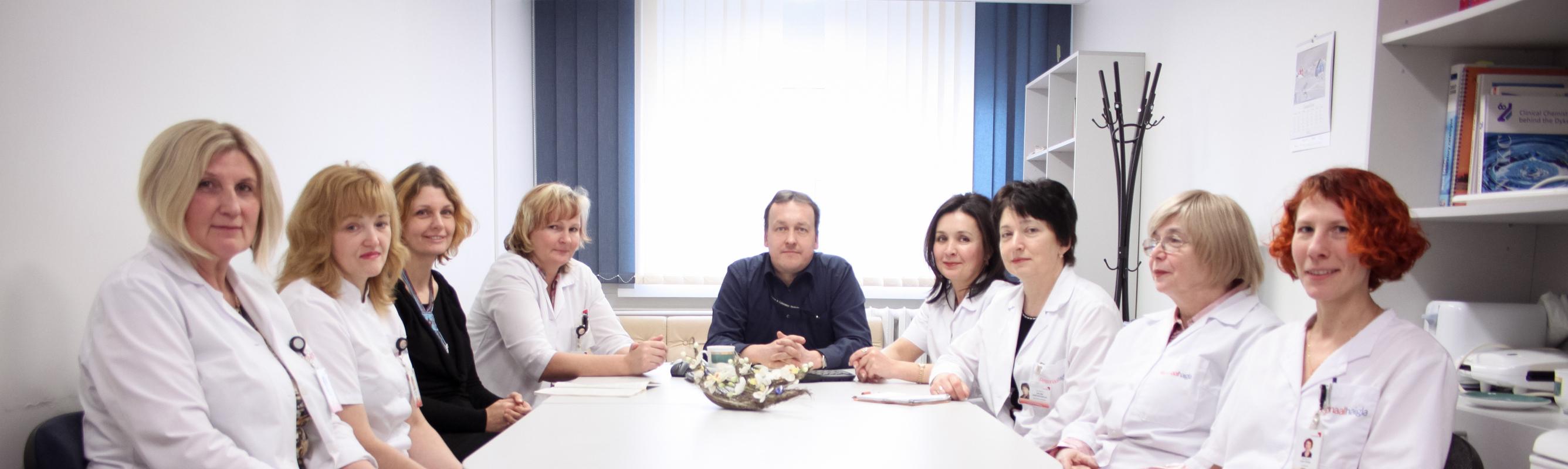 Laboratooriumi juhtide nõupidamine