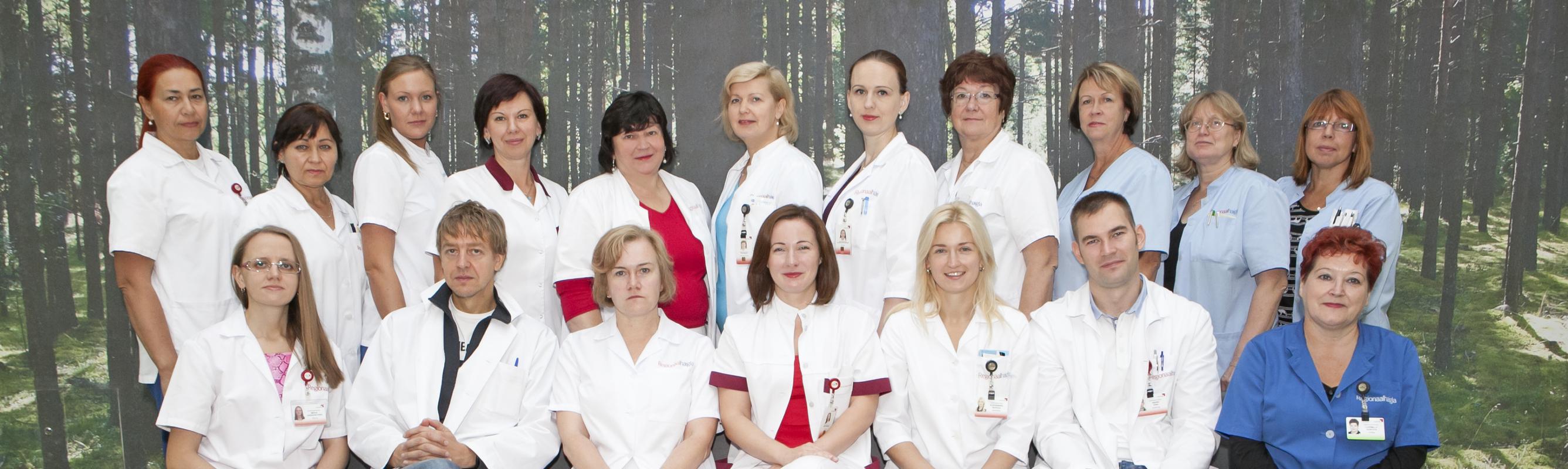 Naistehaiguste keskuse sõbralik kollektiiv