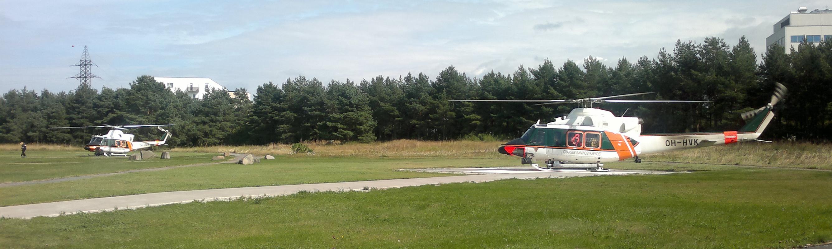 Patsientide transpordiks kasutatakse ka lennutransporti