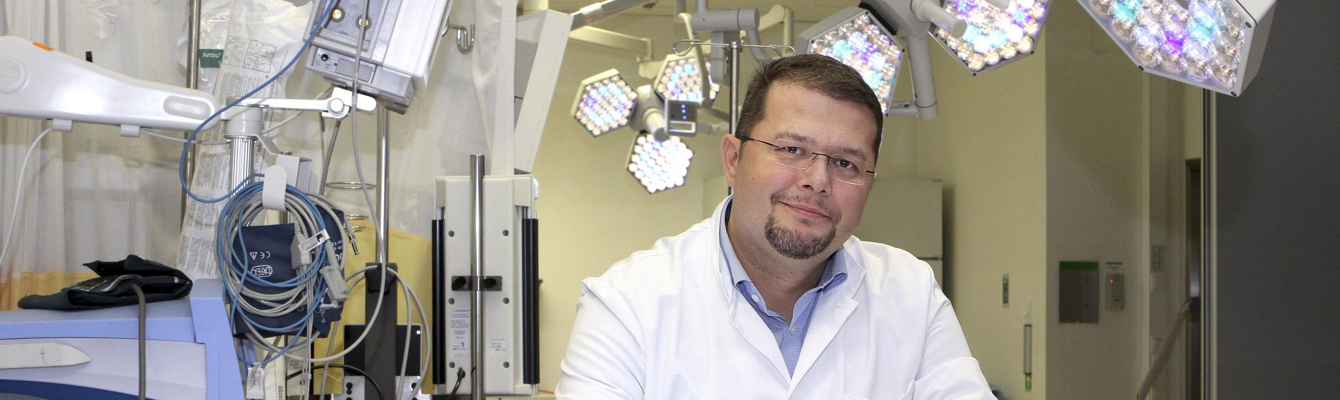 Regionaalhaigla õendusdirektor Aleksei Gaidajenko