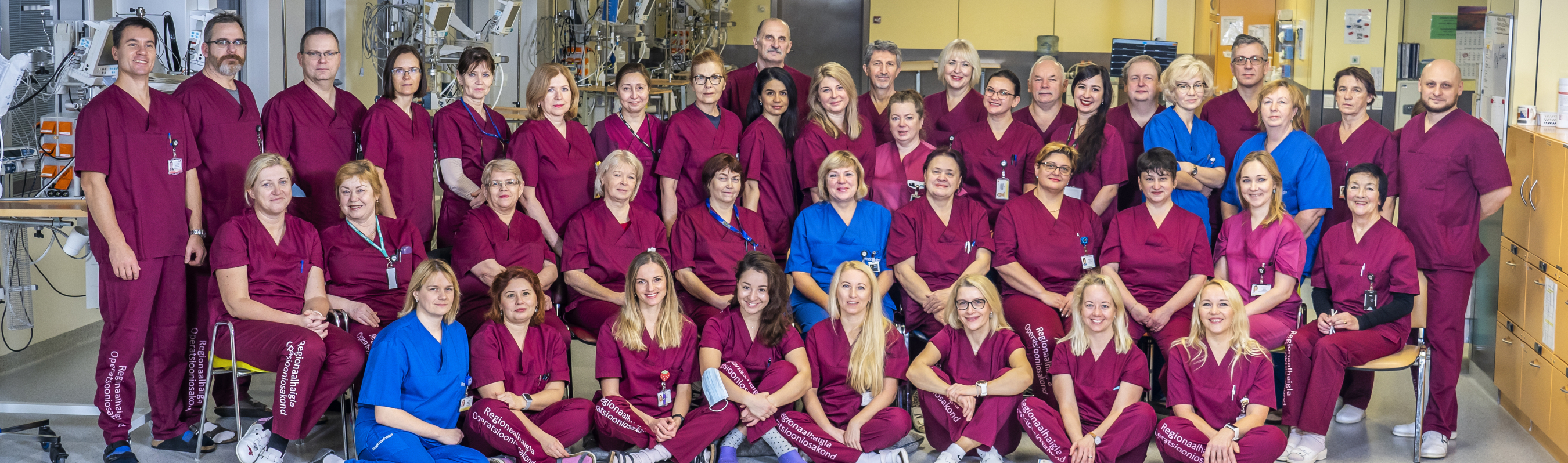 Staff of Anaesthesia Centre