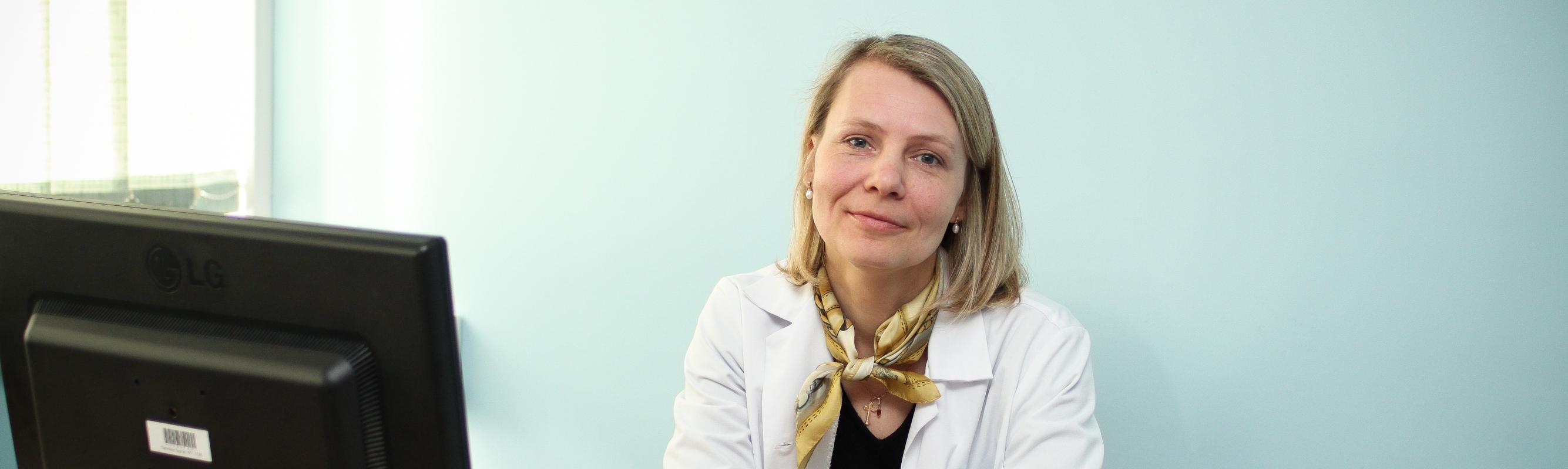 Naha- ja suguhaiguste keskuse juhataja dr Maigi Eisen
