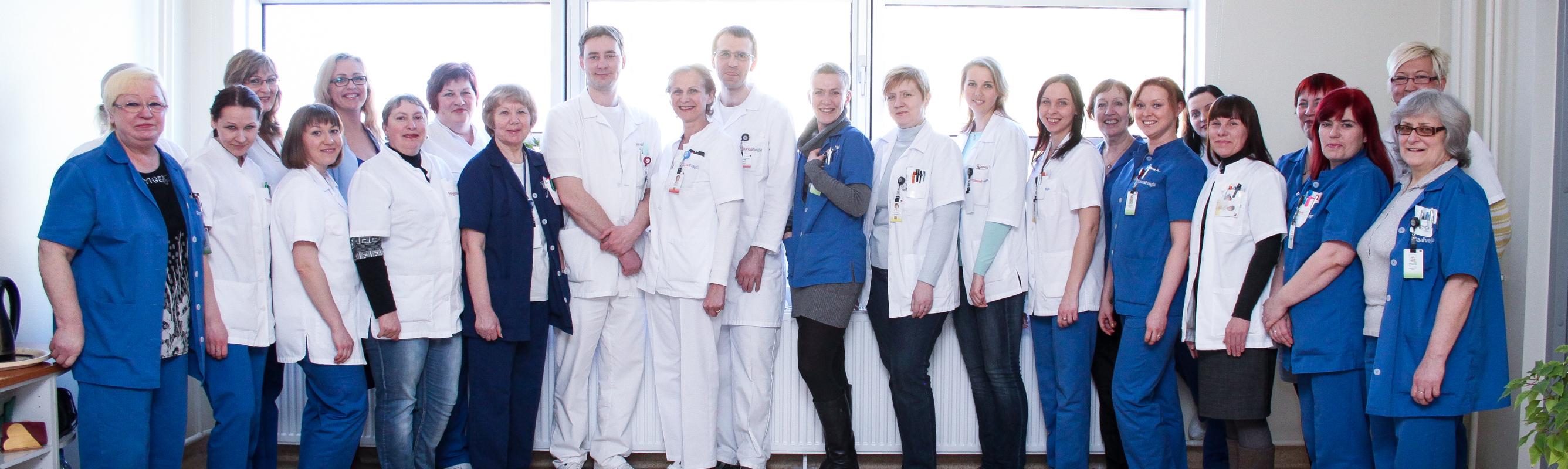 Uroloogiosakonna sõbralik meeskond