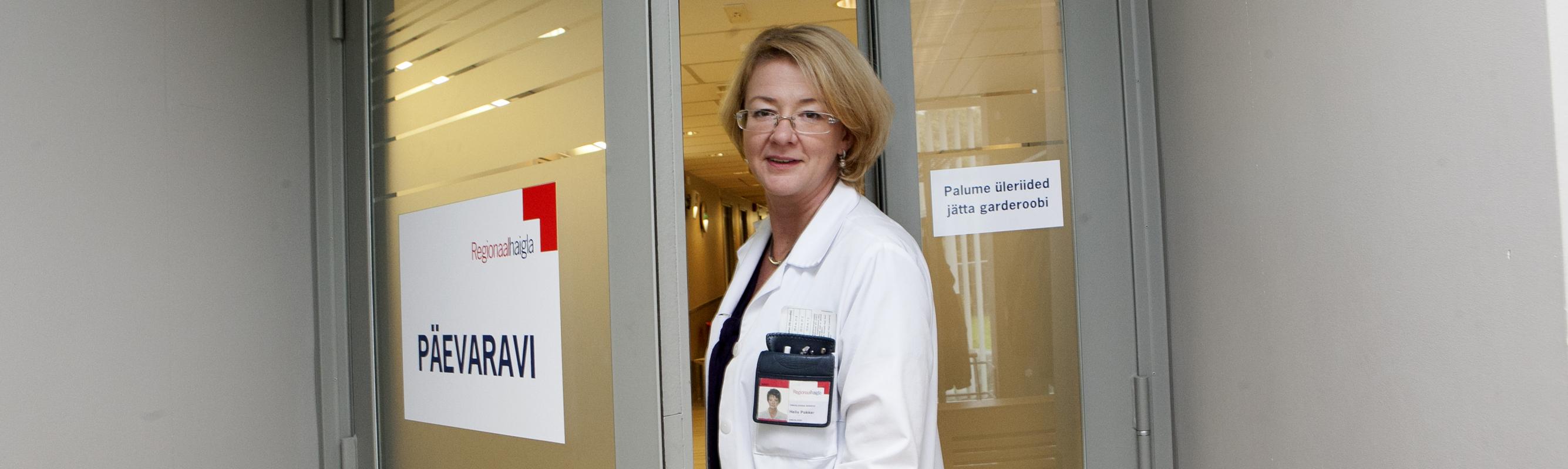 Keemiaravi keskuse juhataja dr Helis Pokker