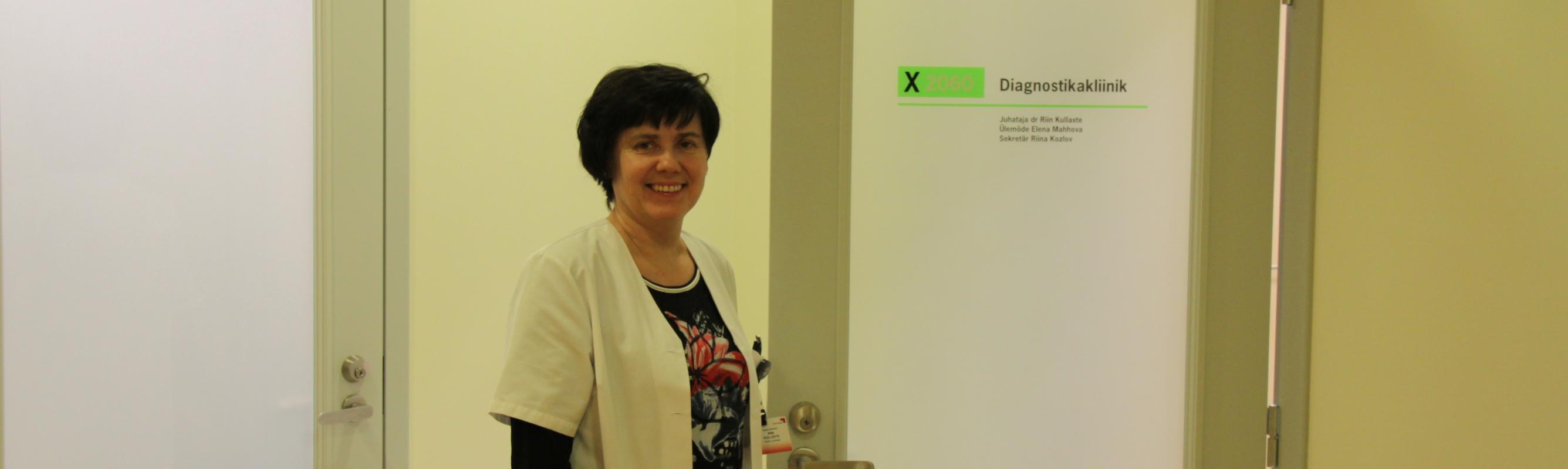 Diagnostikakliiniku juhataja dr Riin Kullaste