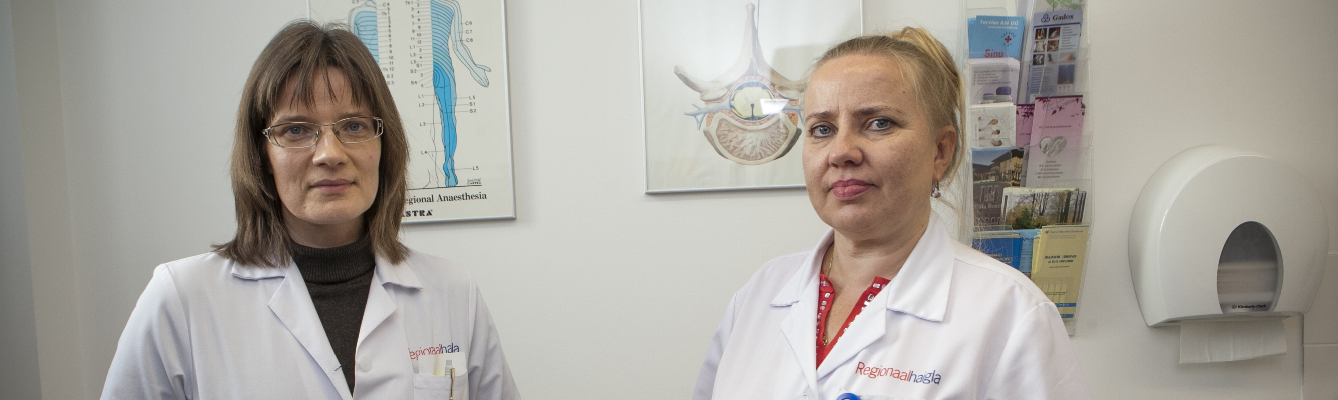 Valuraviarstid dr Mare Kolk ja dr Pille Sillaste