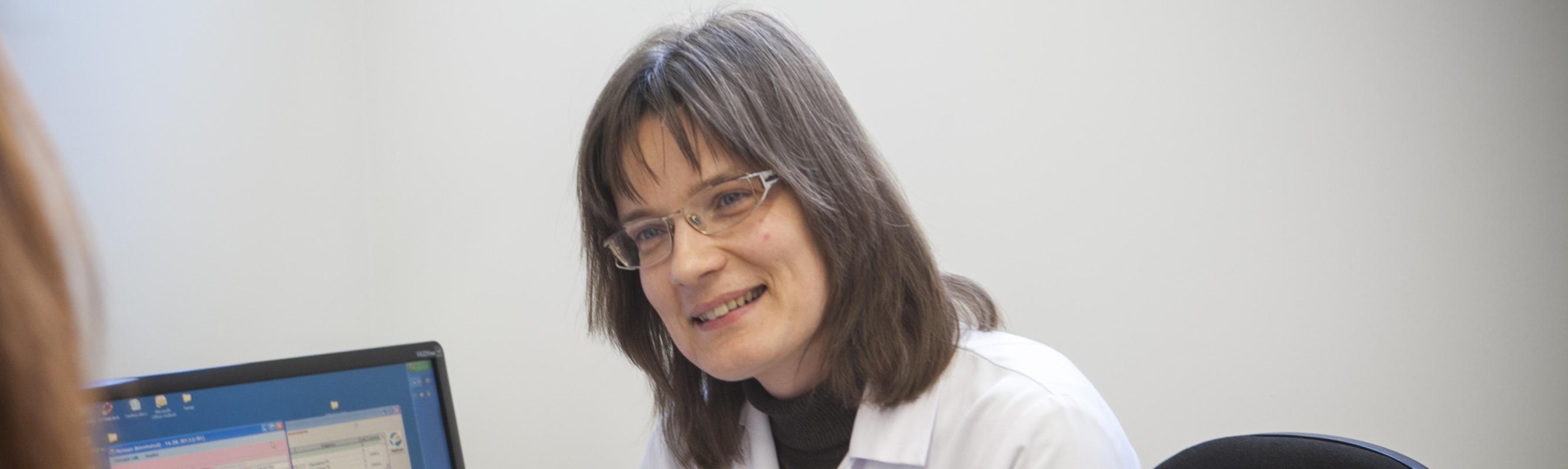 Dr Mare Kolk polikliiniku vastuvõtul