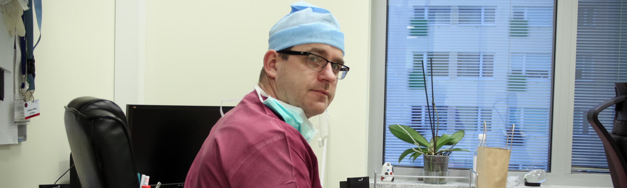 Keskuse juhataja dr Kristjan Kalling