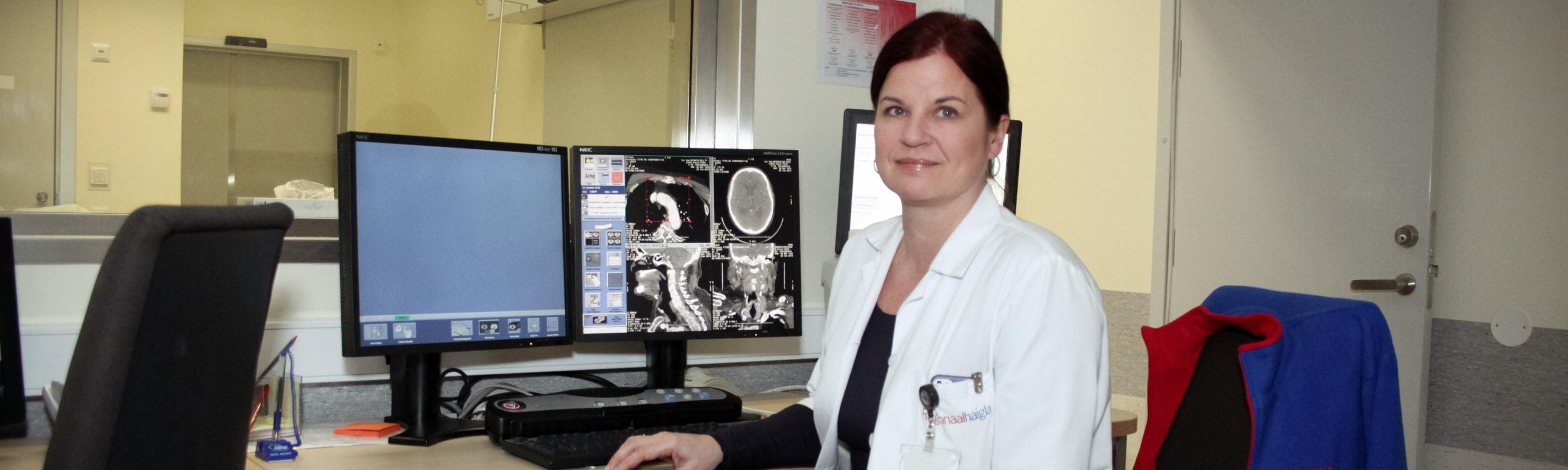 Radioloogiakeskuse juhataja dr Äli Roose