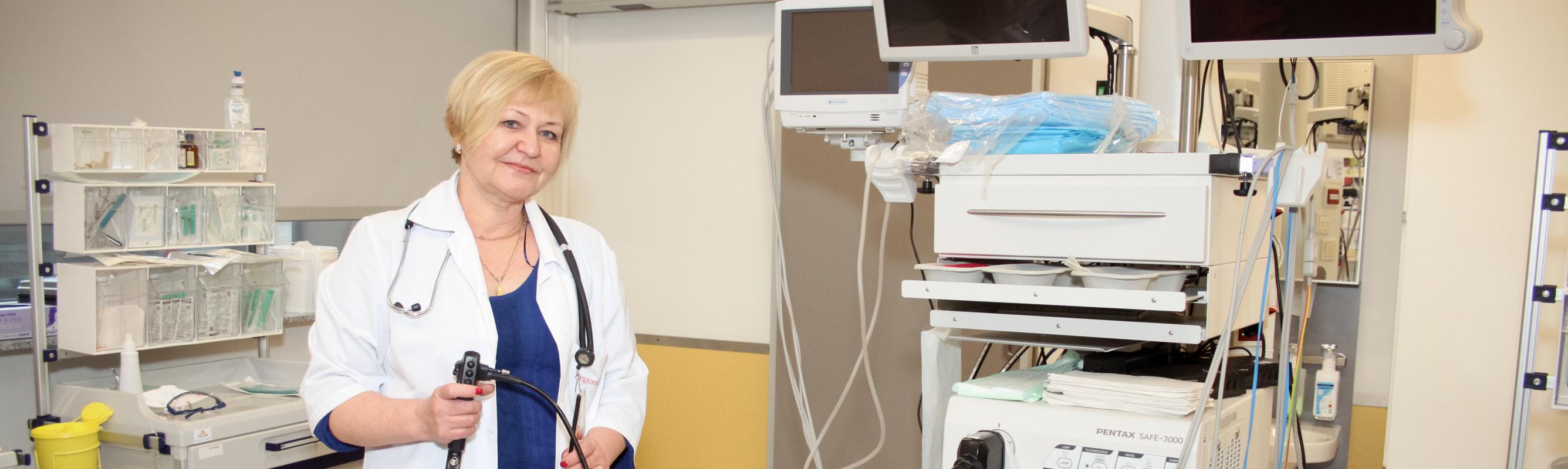 Endoskoopiaosakonna juht dr Sirje Marran