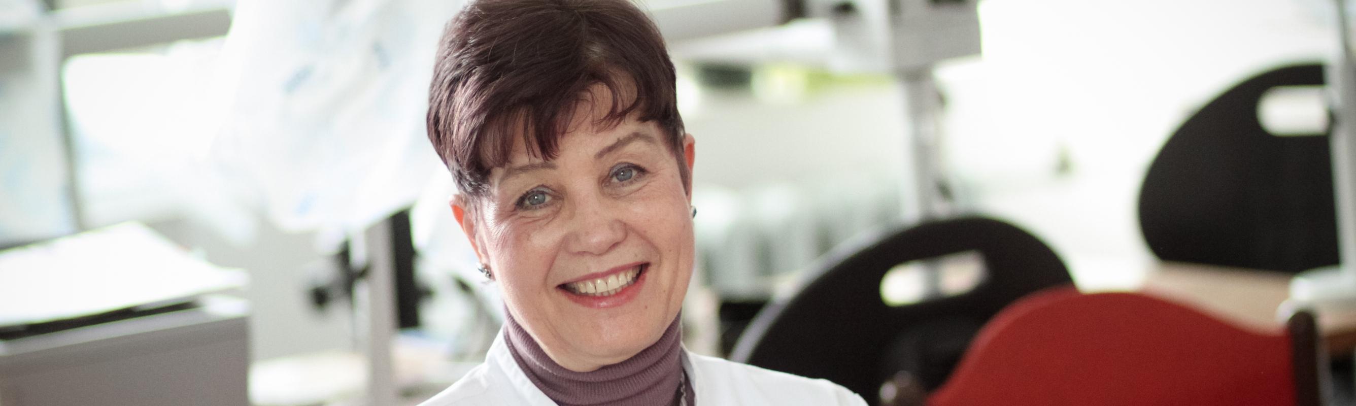 Patoloog dr Sirje Suuroja