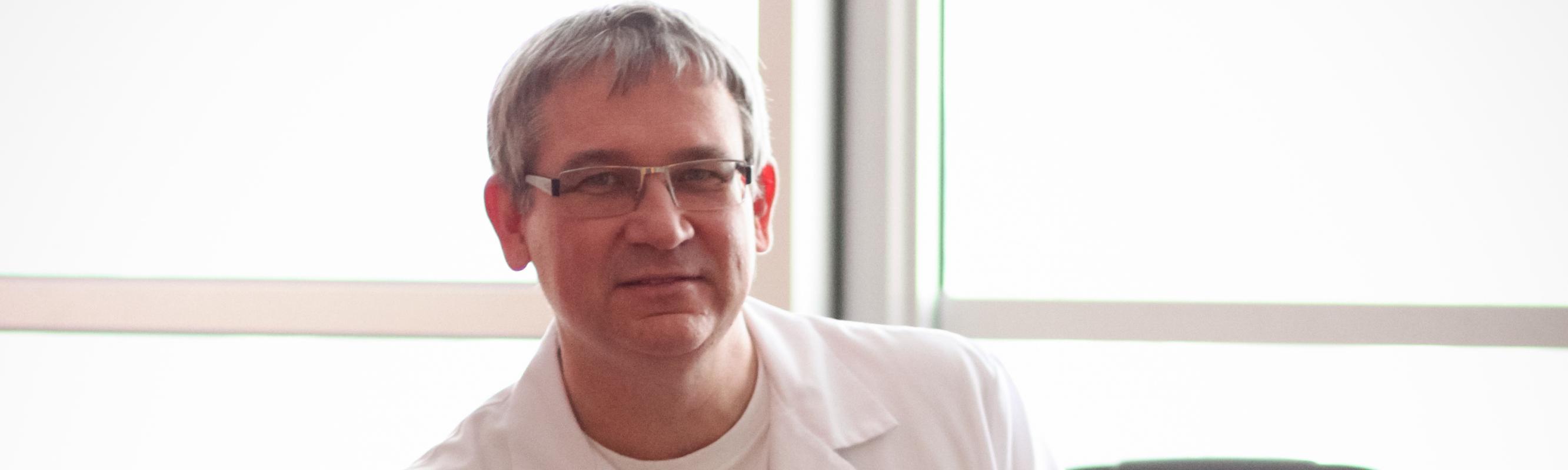 Neuroloogiakeskuse juhataja dr Andrus Kreis