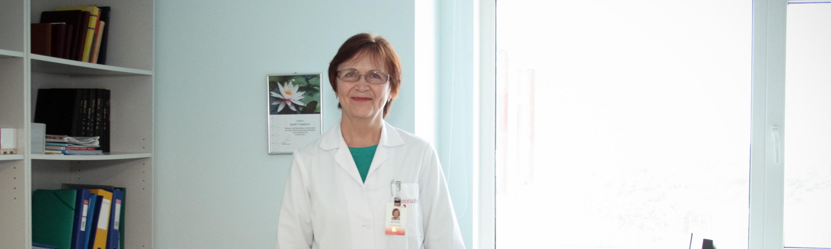 Taastusravi keskuse juhataja dr Maret Tammeka Foto: Silver Raidla