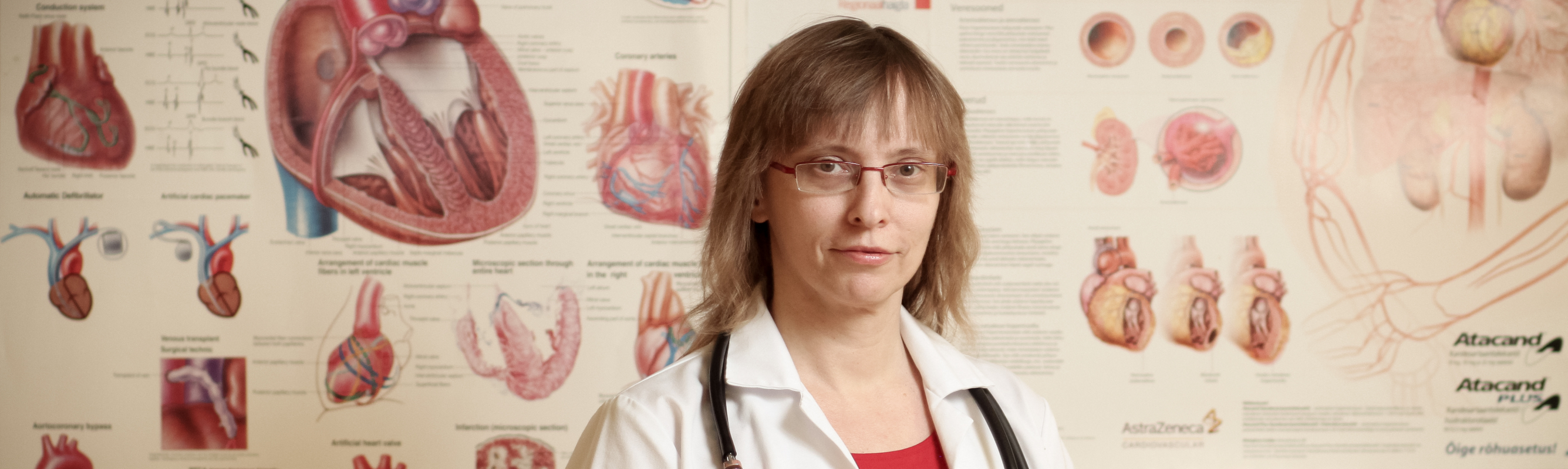 I kardioloogia osakonna juhataja dr Ly Anton