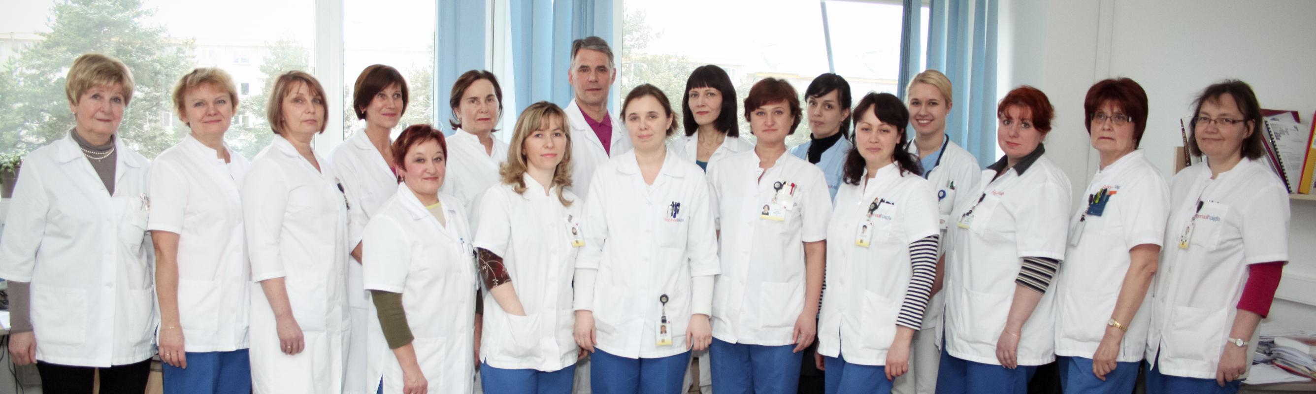 Funktsionaaldiagnostika osakonna töökas meeskond