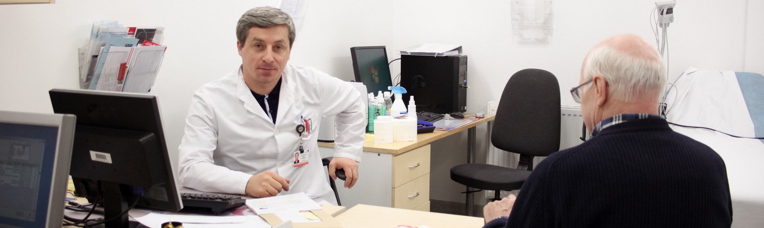 Kardioloog Davit Duishvili polikliiniku vastuvõtul