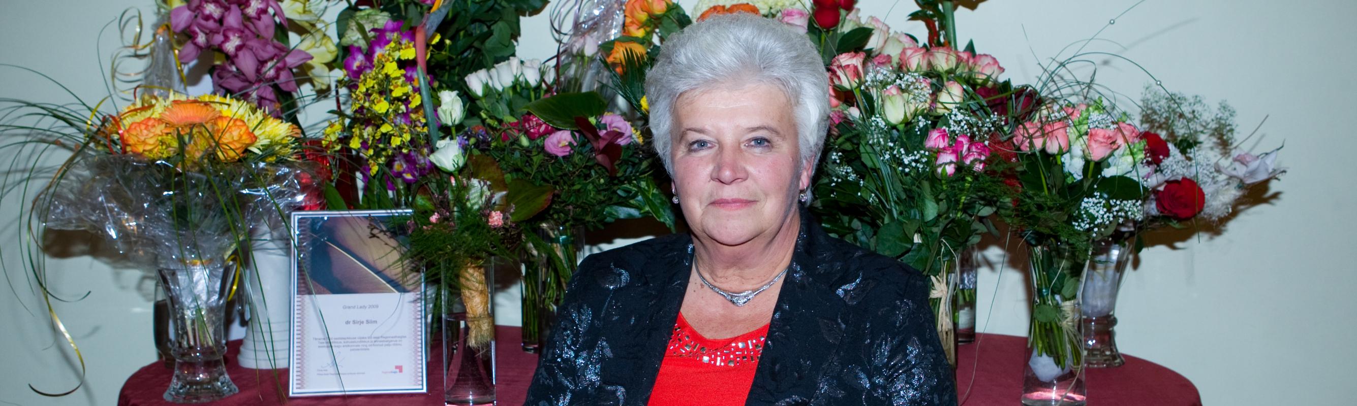 Regionaalhaigla Grand Lady 2009 sisehaiguste arst dr Sirje Siim