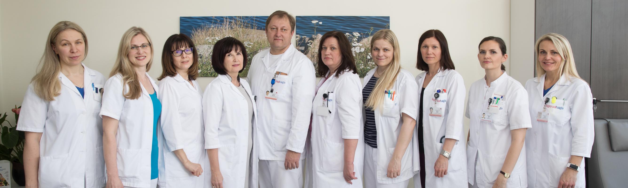 Sisehaiguste keskuse arstid