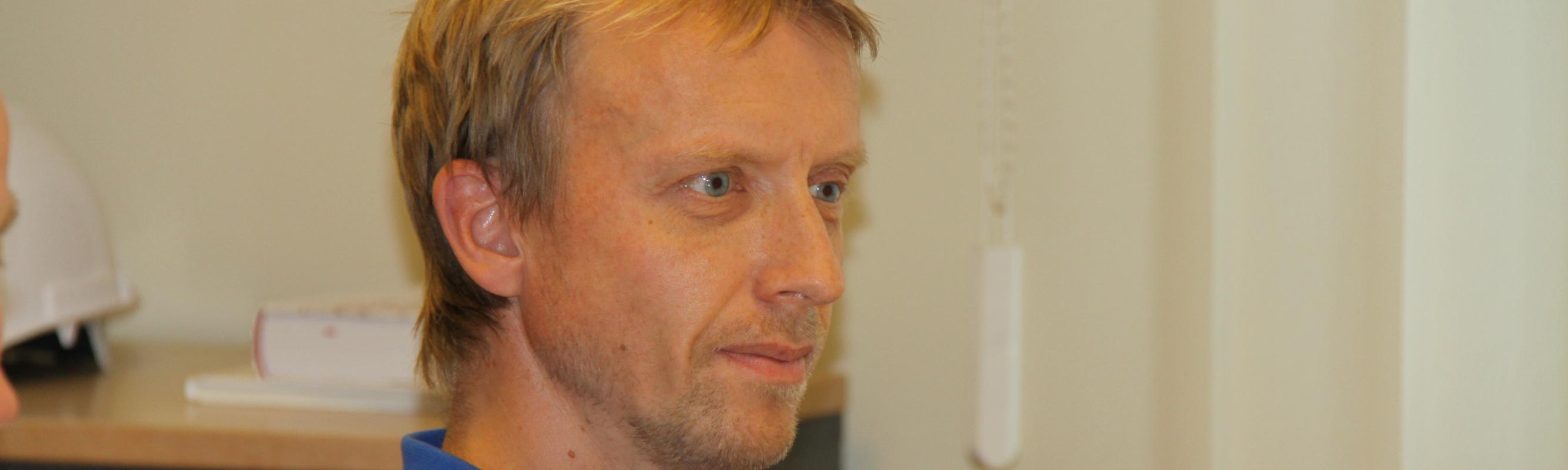 II intensiivravi osakonna juhataja dr Indrek Rätsep