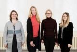 IX osakonna arstid  dr Kaia Tänna, dr Giia Palm, dr Erika Saluveer, dr Karola Peebo