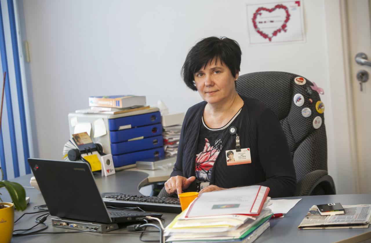 Verekeskuse juhataja dr Riin Kullaste