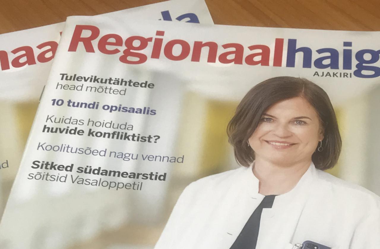 Regionaalhaigla ajakirja aprillinumber