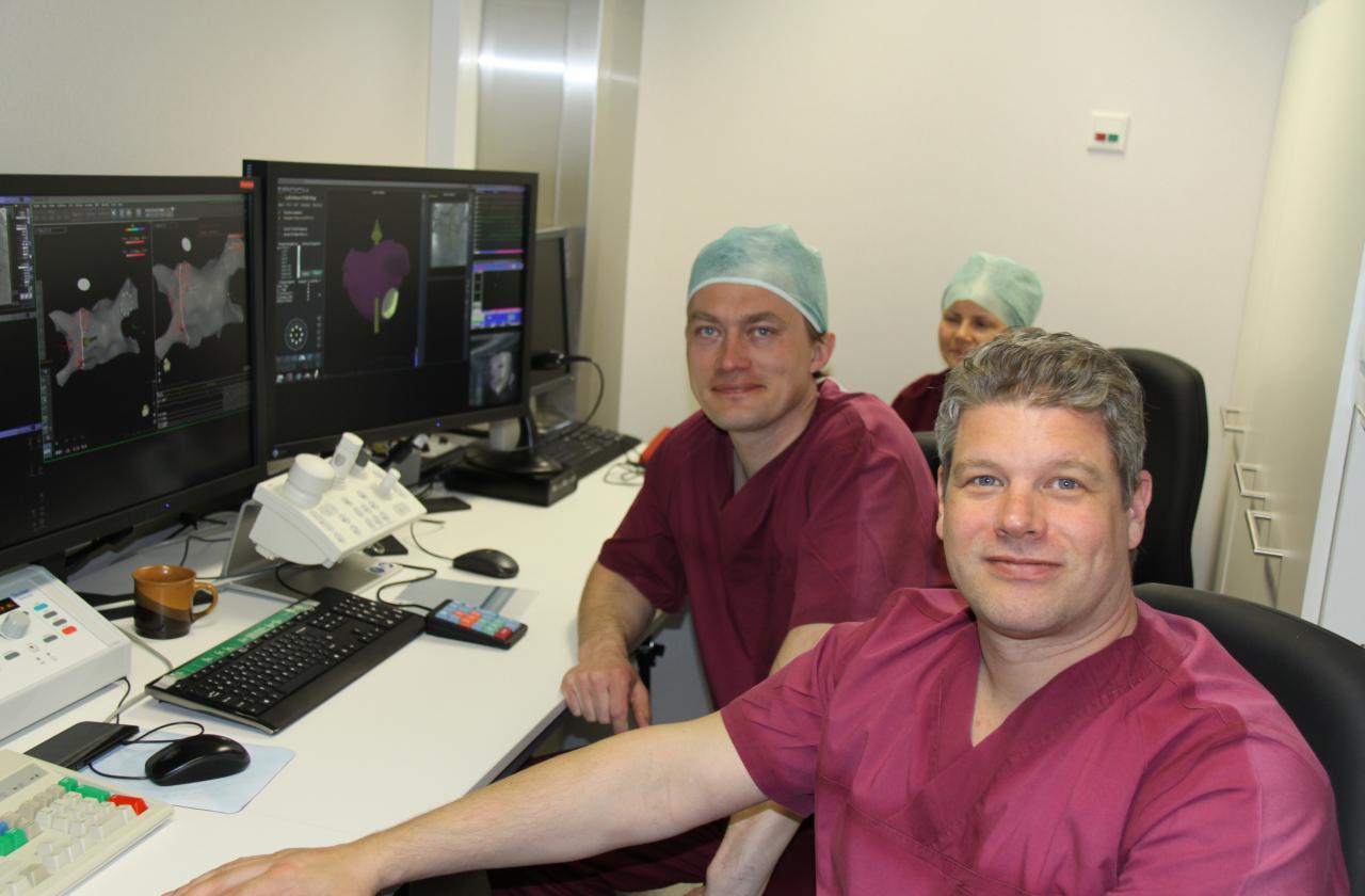 Dr Erik Wissner (ees) ja dr Priit Kampus
