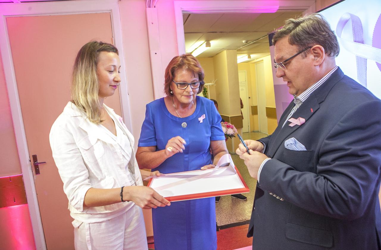 Mammograafiakabineti avamine