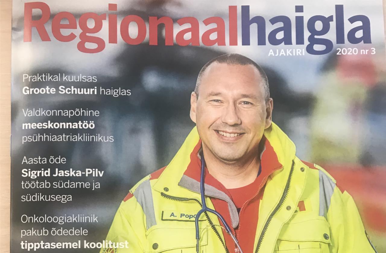 Ilmunud on Regionaalhaigla ajakirja sügisnumber