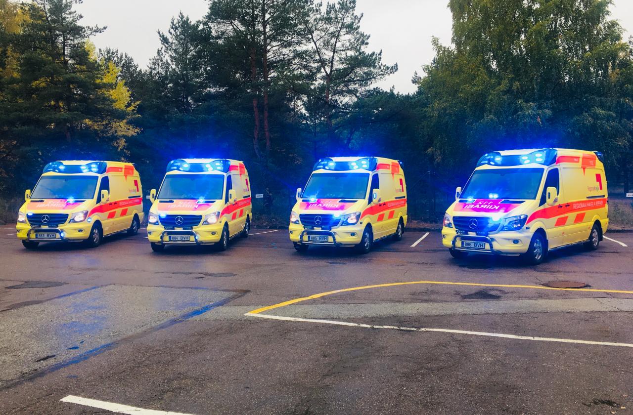 Uued kiirabiautod
