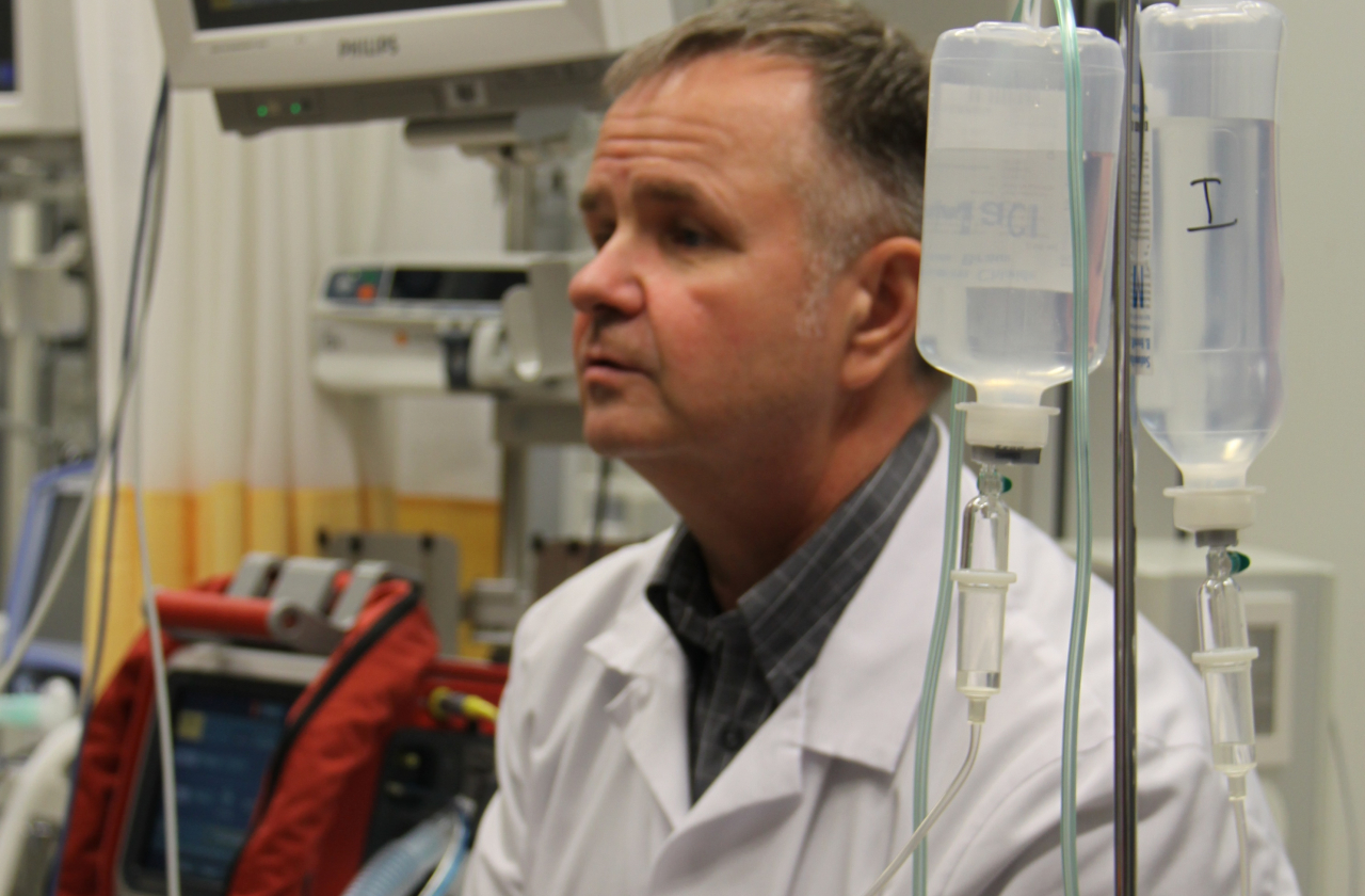 Haigla ülemarst dr Andrus Remmelgas