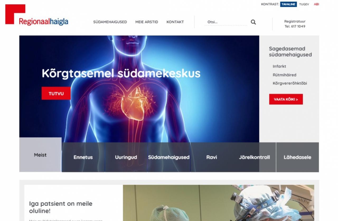 www.südamekeskus.ee