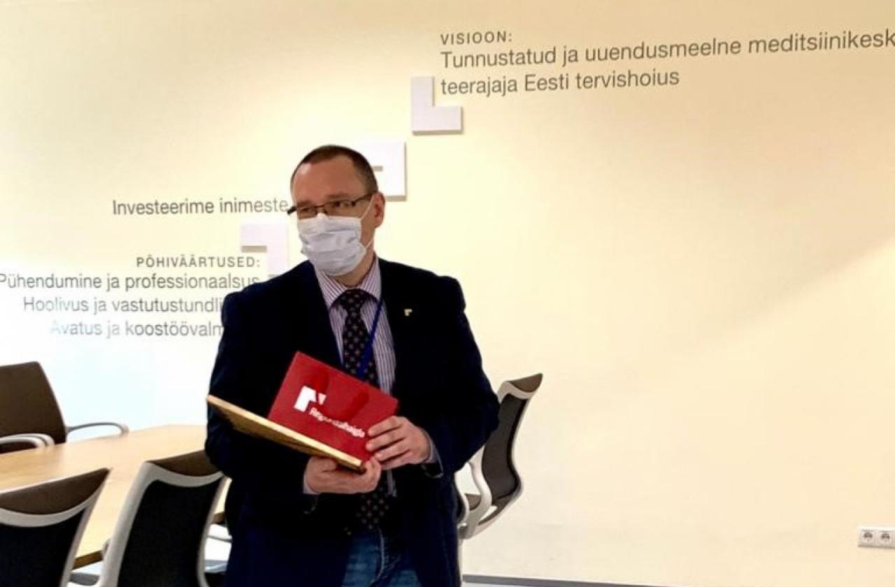 Regionaalhaigla kiirabikeskuse juhataja dr Arkadi Popov jätkab Lääne-Tallinna Keskhaigla juhina