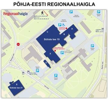 Regionaalhaigla ligipääsu skeem