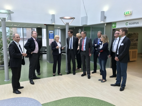 Saksamaa haigekassade liidu delegatsioon