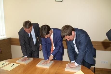 Kavatsuste protokolli allkirjastamine Rapla Maakonnahaiglaga