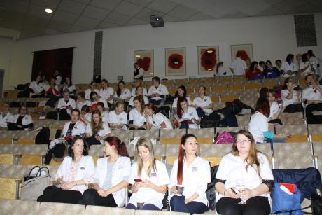 Tartu Tervishoiu Kõrgkooli tudengid külastasid Regionaalhaiglat