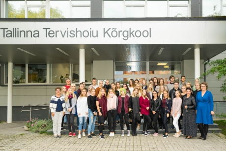 Regionaalhaigla koostöö Arte Gümnaasiumiga innustab õpilasi